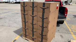 What's Inside an Amazon Mystery Box from a Pallet?