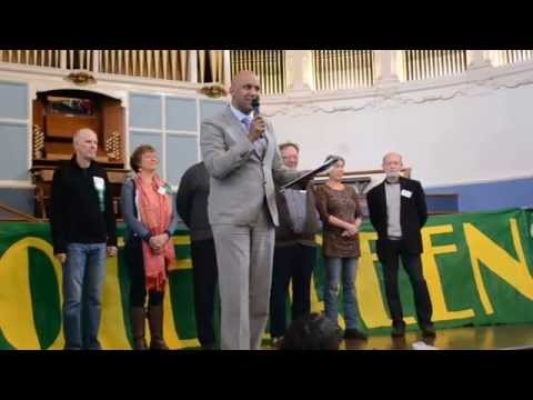 Launching Green Party Candidates in Oxfordshire