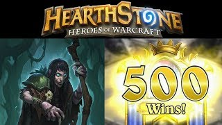 Hearthstone Got to 500! Now Celebrate with Fun Decks