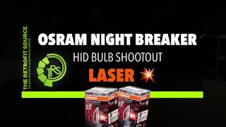 (NEW) OSRAM NIGHT BREAKER LASER HID BULB VS PHILIPS XV2! IS THERE A NEW KING IN TOWN?!