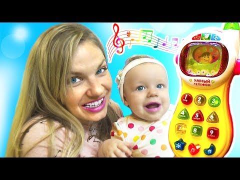 Интерактивный Детский Телефон 💖 Музыкальный Телефон 💕 Anetti Star