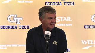 Paul Johnson Postgame Press Conference (Clemson - 9-22-18)