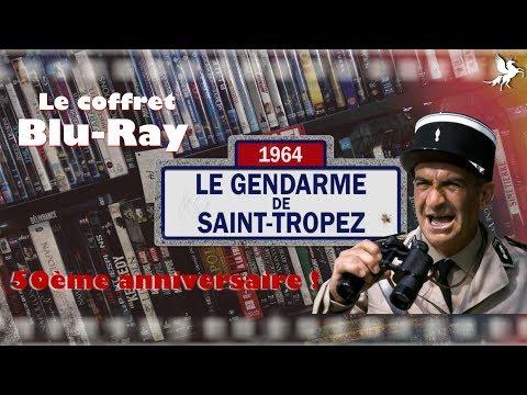 Vidéo sur Louis de Funès ! Les Gendarmes de Saint Tropez - Coffret Blu-Ray 50ème anniversaire !