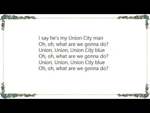 Blondie - Union City Blue Lyrics
