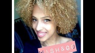 WASH&GO ⎟⎟Comment obtenir le parfait wash&go pour cheveux courts ??
