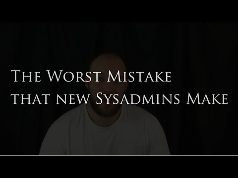 My report on the worst mistake