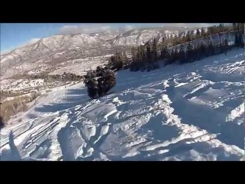 Christmas Powder Day at Buttermilk ski Area Aspen, Colorado 12Dec2012