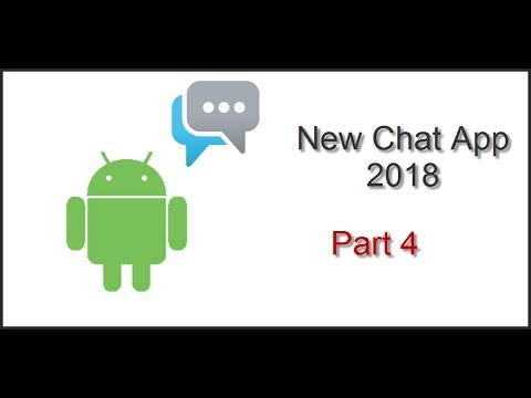 NewChatApp 2018 - Make Chat App With Different Chat Rooms (thunkable) - Part 4