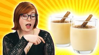 Irish People Play Alcoholic Eggnog Roulette