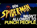 90s Spider-Man Wasn't Allowed to Punch People (The Poor Yellow Power Ranger)