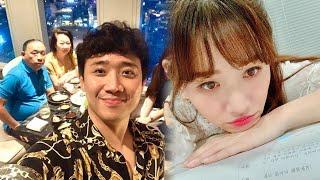 Trấn Thành lên tiếng về việc Hari Won vắng mặt trong sinh nhật mẹ ruột