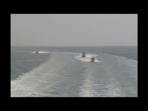Iranian boats harass Coast Guard cutter