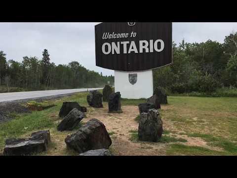 Driving To Kenora, Ontario Canada 2019| AnaandmyFamvlogs.