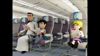 gulf air safety video