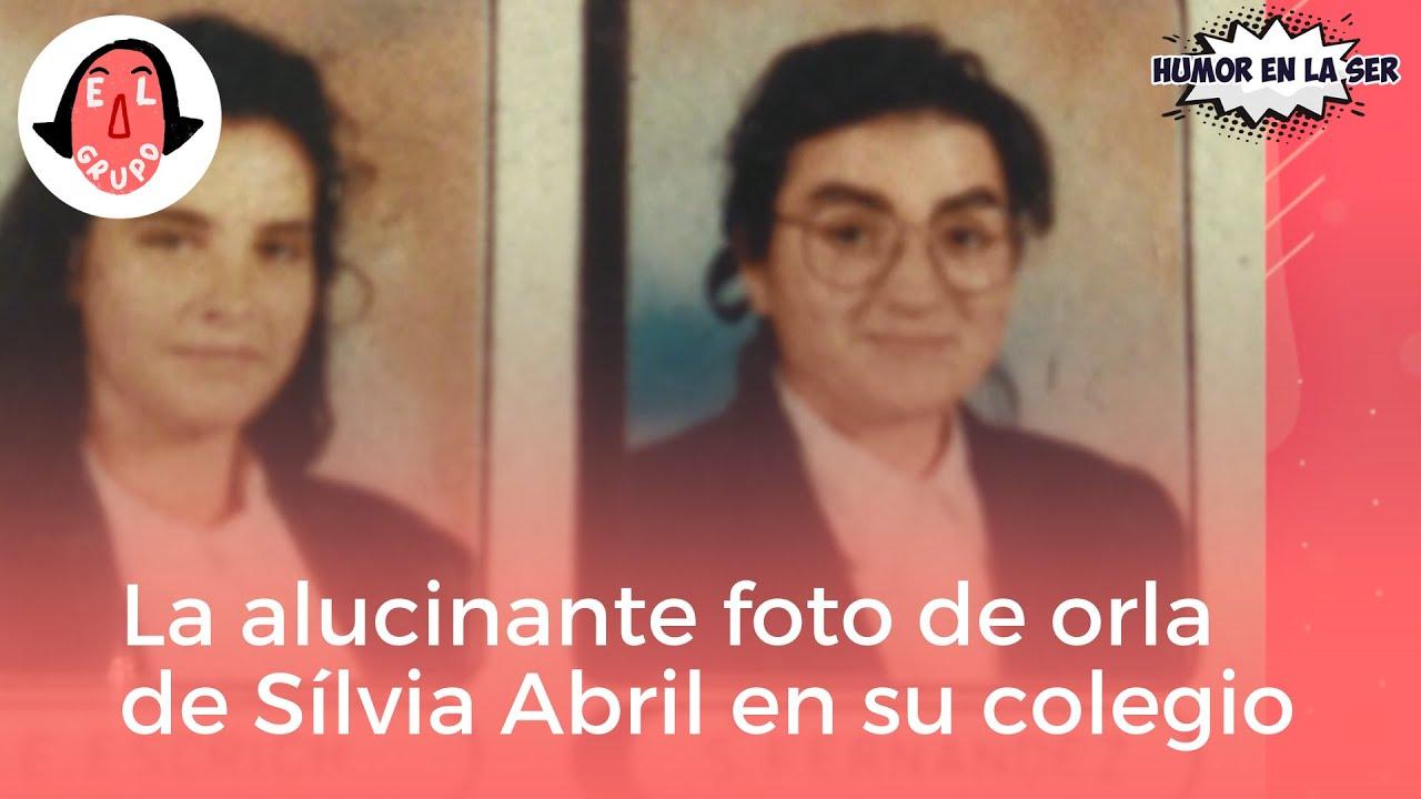 La irreconocible foto de Sílvia Abril en su orla