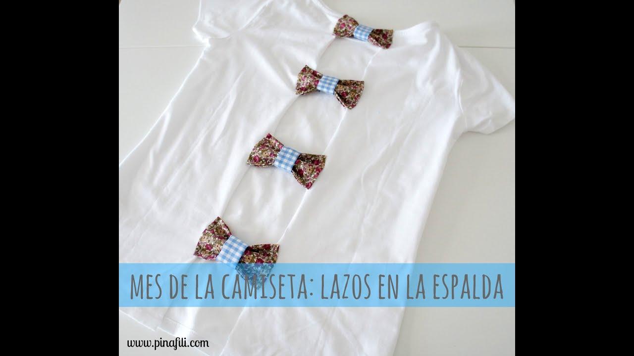 MES DELACAMISETA 4 :LAZOS EN LA ESPALDA - YouTube
