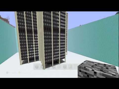 Minecraft Martin Tower Outside