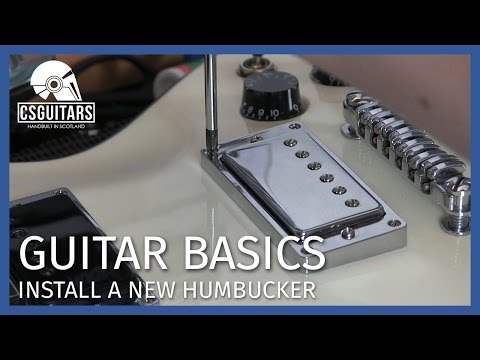Install A New Humbucker: Guitar Basics