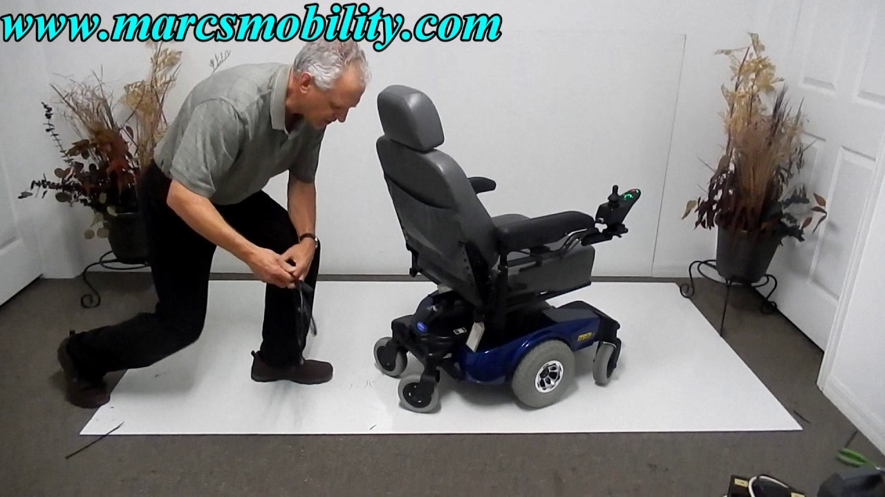Invacare Pronto M51 Used Power Chair Youtube Electrical Wiring Diagrams Prmobil Wheelchair C400