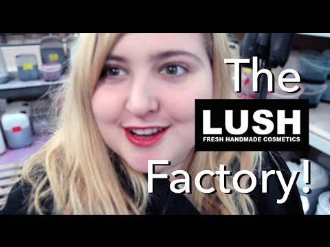 LUSH Factory Tour! | Made in Poole