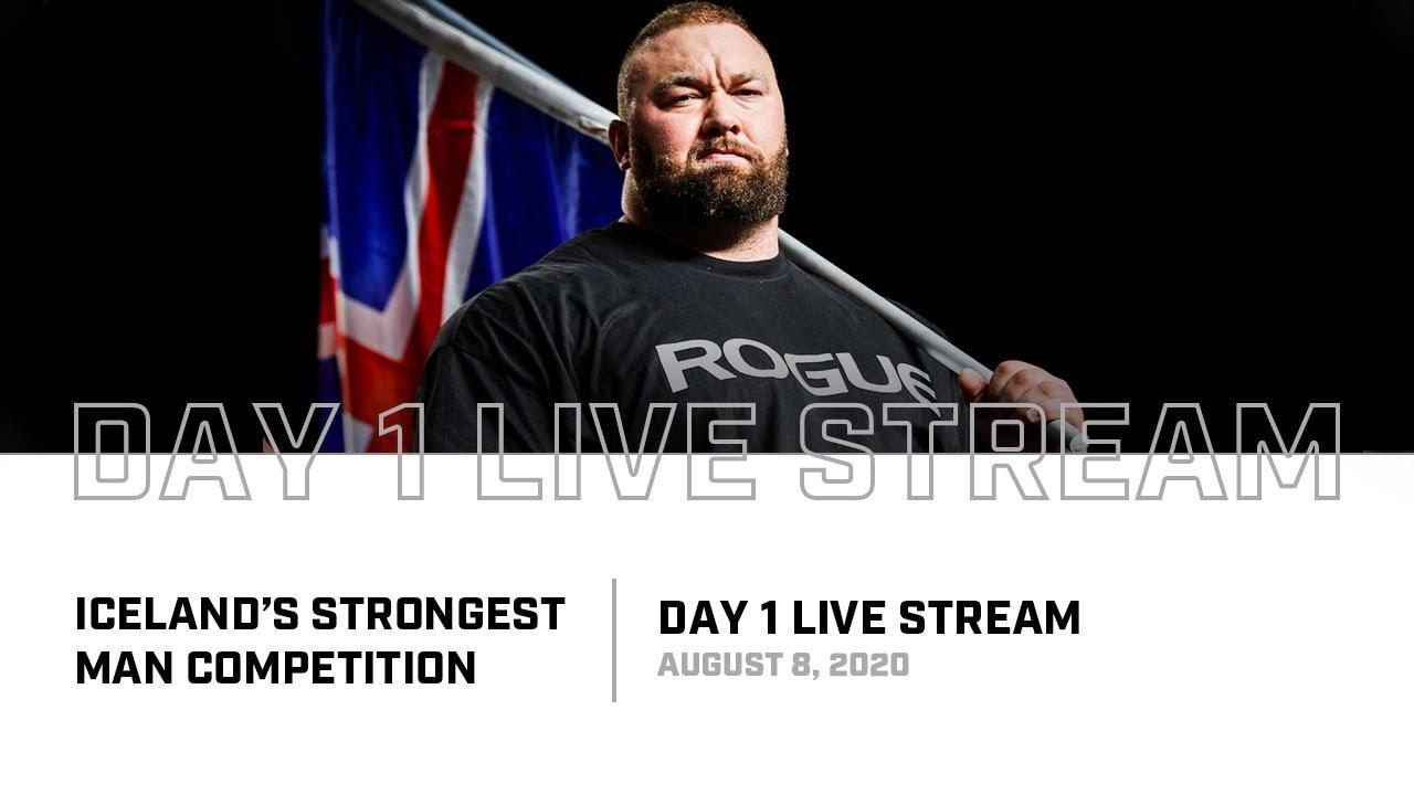 Full Live Stream | 2020 Iceland's Strongest Man - Day 1