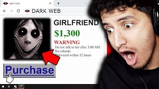 I bought a GIRLFRIEND on the Dark Web and then she showed up...