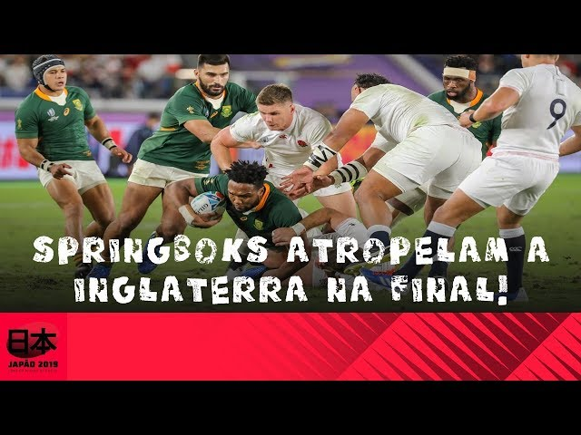 DDJ África do Sul x Inglaterra: Final Springboks atropelam a Inglaterra na final!