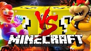 Minecraft: MARIO LUCKY BLOCK CHALLENGE | Mario Level 1!!