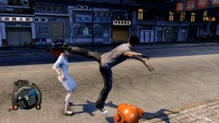Sleeping Dogs: Bloopers and Epic Moments Gameplay (1/2)