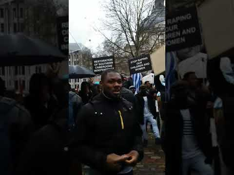 Federal Republic of Ambazonian former British trusted commonwealth office London