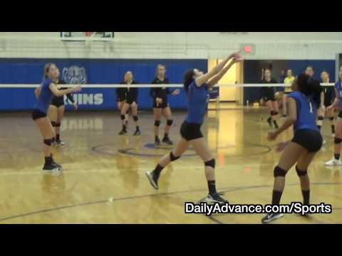 The Daily Advance | 2017 High School Volleyball | Manteo at Camden