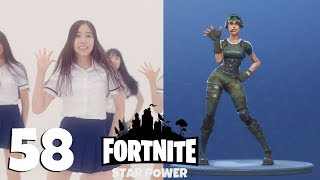 Fortnite: ALL 58 emotes and dances + Their real life original references [No bonuses] Video