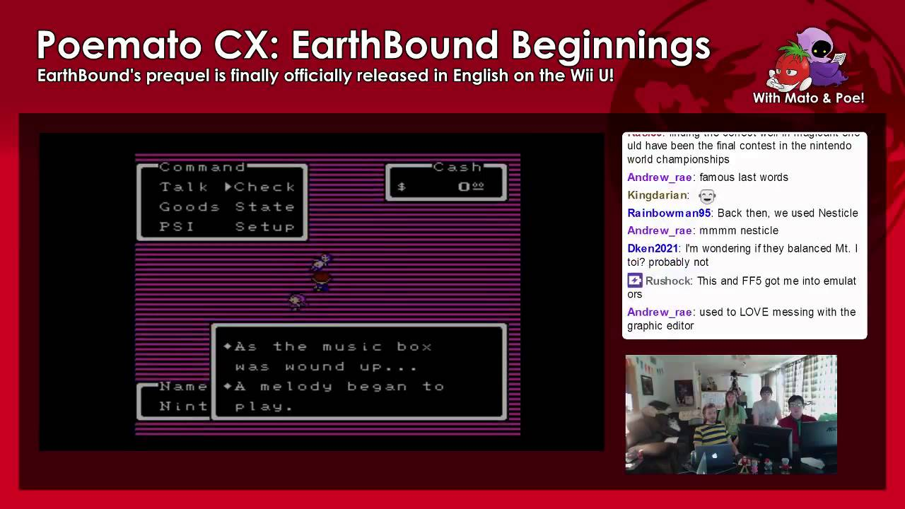 EarthBound Beginnings Released on Wii U! « EarthBound Central