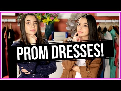 Thumbnail: One Minute Prom Dress Challenge | Closet Wars w/ The Merrell Twins