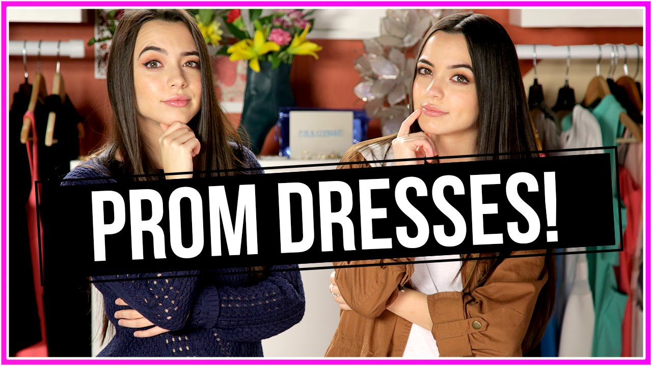 One Minute Prom Dress Challenge | Closet Wars w/ The Merrell Twins