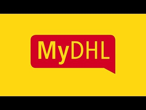 Register For The MyDHL Portal