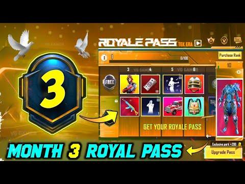 M3 ROYAL PASS REWARDS // 1 TO 50 RP // M3 ROYAL PASS LEAKS ( M3 ROYAL PASS )