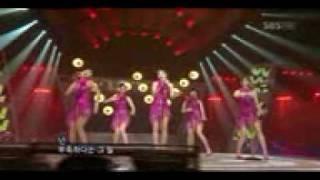 Wonder Girls-nobody桃紅禮服