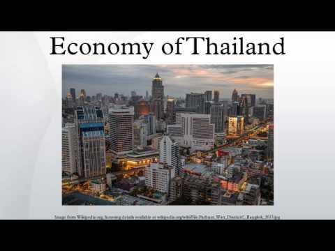 Economy of Thailand