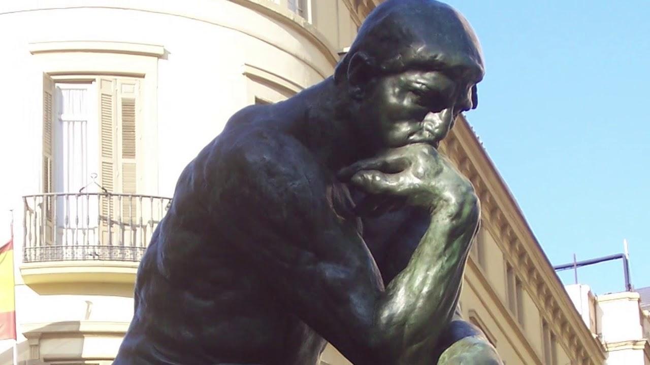 Fabuleux Le Penseur by Auguste Rodin (1840 - 1917) - The Thinker / El  DN75