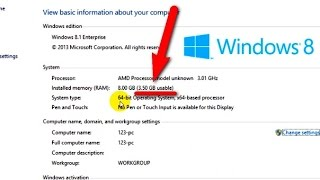 "How to fix ""GB usable"" RAM problem under 64bit Windows"