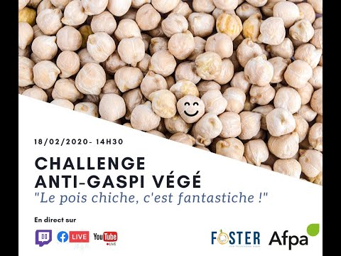 Le pois chiche c'est fantastiche - Cours LIFE FOSTER du 18-2-2020
