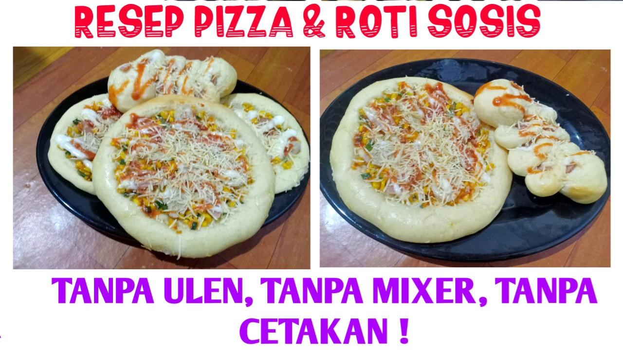 Metode Autolisis Resep Pizza Tanpa Ulen Tanpa Mixer Tanpa Cetakan Ekonomis Hanya 1 Telur Youtube