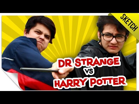 Duelo de Fans: Harry Potter VS Doctor Strange  SKETCH  QueParió ft MassterFX