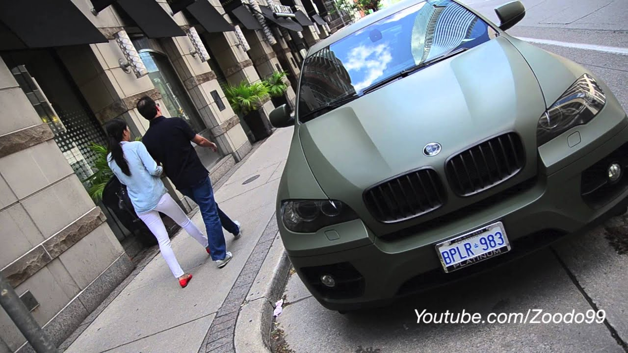 Matte Green Bmw X6m By Restyleit Youtube