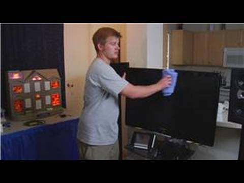 home theater systems how to clean a plasma tv screen youtube. Black Bedroom Furniture Sets. Home Design Ideas