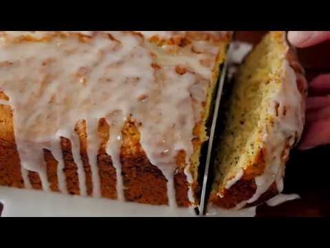 Summer Squash Lemon Poppy Seed Bread