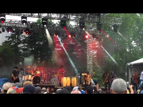 """Trombone Shorty """"Here Come The Girls"""" @ LaureLive Music Festival - Novelty, OH - 2018.06.10"""