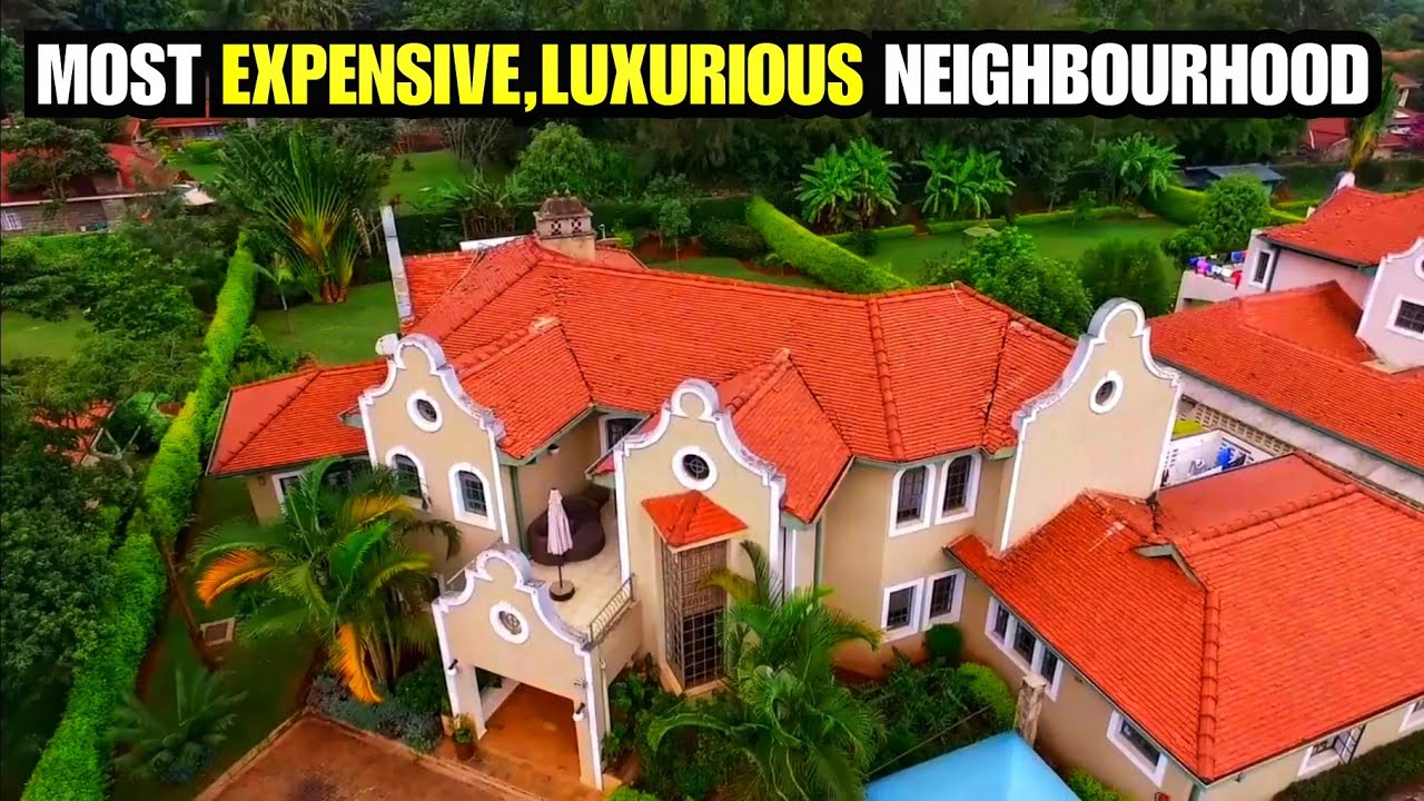 Is this the MOST LUXURIOUS neighbourhood in KENYA?