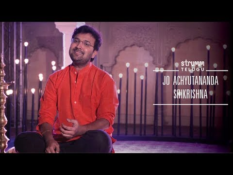 Jo Achyutananda I Srikrishna I Annamayya Songs